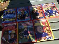 Fireman Sam DVDs