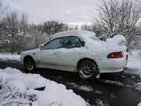 Winter's Coming! Classic Subaru Impreza 1.8 Night Nav Rally Car Project