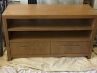 Tv unit with drawers.