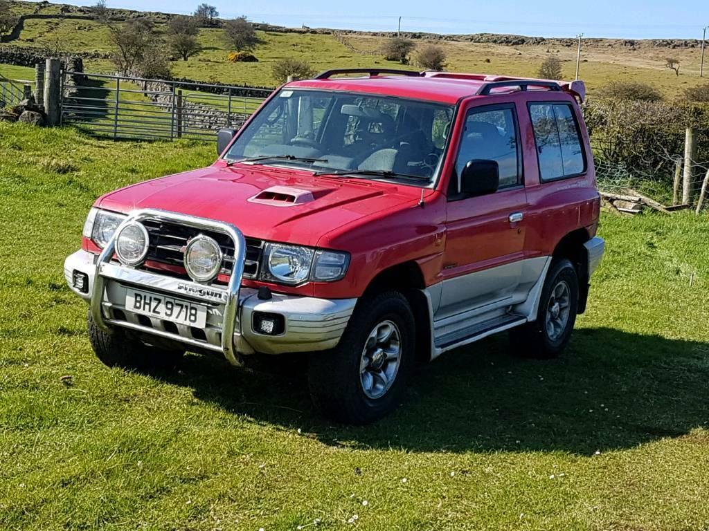 4x4 jeep Mitsubishi shogun swb maybe swap   in Larne, County Antrim    Gumtree
