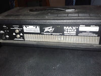 Peavey MAX 160 with Peavey 115 BX BW