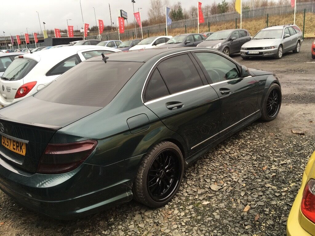 Mercedes benz c180 kompressor amg replica in yoker for Mercedes benz c350 supercharger