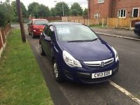 2013 Vauxhall Corsa s eco flex low mileage damaged repaired