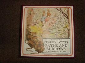 Vintage 1988 Beatrix Potter Path & Burrows game