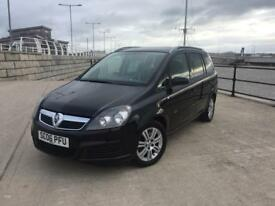 2006 06 PLATE VAUXHALL ZAFIRA 1.9CDTi ( 120ps ) ACTIVE ++ 7 SEATER ++ DIESEL ++hpi CLEAR++