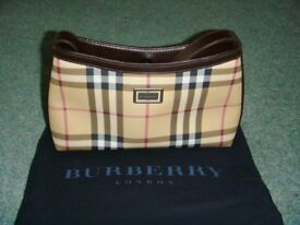 Authentic Small Burberry Bag