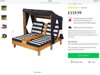 Children's double chaise brand new