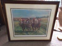 Goodwood Horse racing painting