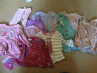 Large Girls bundle 12-24 months
