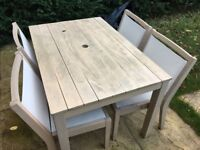 Marks and Spencer outdoor table and chairs were £499