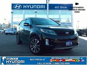 2014 Kia Sorento SX|7 SEATER!!|LEATHER|NAV|BACK-UP CAM|