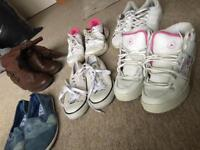 Shoes bundles all in used condition