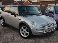 51 REG MINI COOPER 1.6 6 MONTHS MOT BARGAIN PX WELCOME
