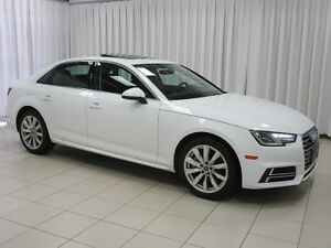 2018 Audi A4 2.0 TFSI TURBO QUATTRO AWD w/ HEATED LEATHER SEATS