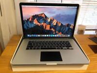 """Apple MacBook Pro Retina 15.4"""" 2.5GHz Quad Core i7 512GB SSD 16GB RAM MID 2105"""