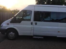 Ford transit minibus Low mileage