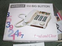 BIG NUMBERED AND LOUD SPEAKER PHONE