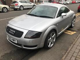 AUDI TT QUATTRO 1.8T 20v, 2000, will come with Full m.o.t, cleanest example around.