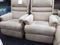 Brand neww sherbourne x 2 recliner chairs