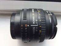 Digital SLR lens 50 mm 1: 1.8-Nikon