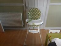 O Baby High Chair