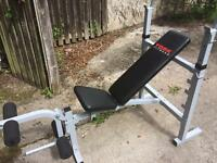 York Fitness Bench Press with Leg Extension