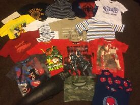 BUNDLE OF BOYS CLOTHES AGE 6-7 GREAT CONDITION 16 ITEMS