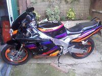 1996 Yamaha FZR 1000 EXUP (foxeye) VGC, may swap please see Ad