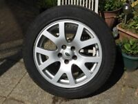 Land Rover wheel and tyre for sale