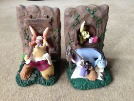 Rare Collectible Winnie the Pooh bookends book ends