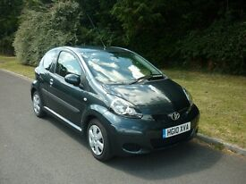 TOYOTA AYGO+VVT-I. Very low mileage! Excellent condition!