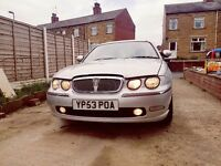 Rover 75 1.8 Turbo Petrol. Very clean car.