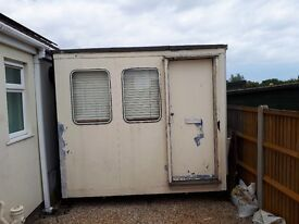 Portacabin (16ftx9ft) free to anyone who can remove.