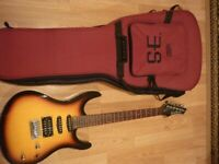 Exellent Washburn RX 10 with case