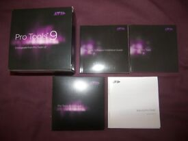 Pro Tools 9 , Music Production , Recording , Editing and Mixing Software for Digidesigh and AVID .