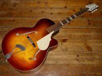 Framus Sorella archtop acoustic jazz guitar 1960s