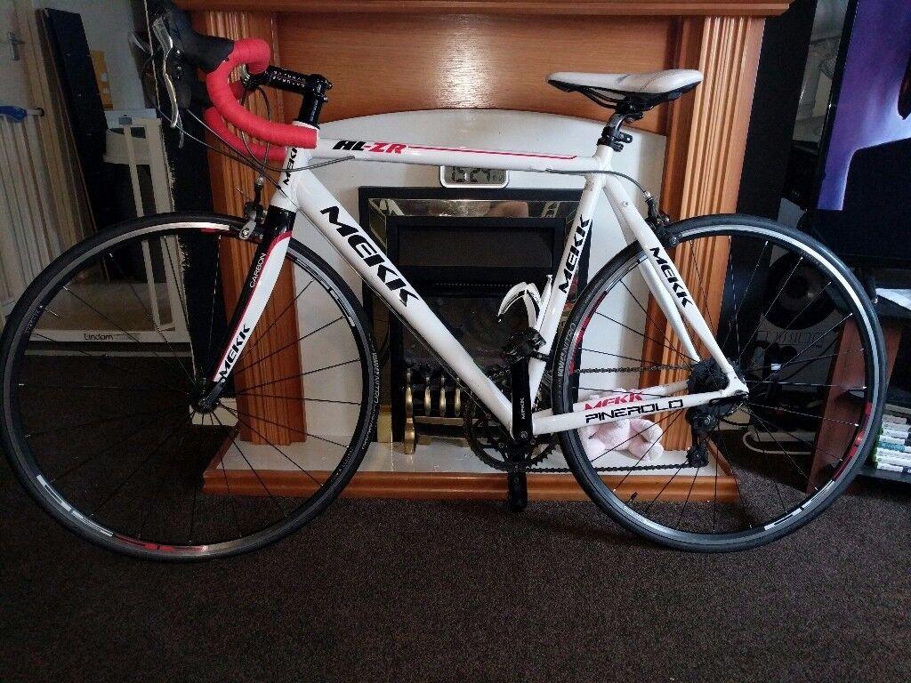 Road bike Mekk al-zr used, 1 owner general wear and tear