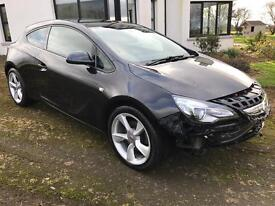 Damaged Astra GTC , 2.0 Diesel coupe , 2014