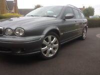 Jaguar xtype AWD Estate lpg low milliage fsh