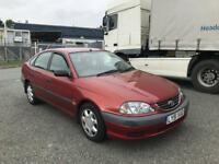 2002 51 TOYOTA AVENSIS 1.8 VERMONT AUTO 1 OWNER ONLY 80k MILES SUPERB DRIVES LIKE NEW BARGAIN £795