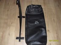 Punching bag A.M. ELITE from genuine leather