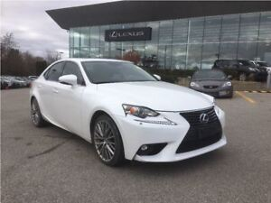 2015 Lexus IS 250 PREMIUM PKG/LOW LOW KMS!