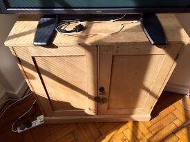 Wood cupboard vintage