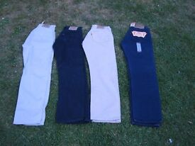 Levi Jeans £40 the lot - 4 Pairs (Will not split)