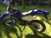 Yamaha ttr trail bike