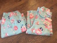 Girls PJ's age 5-6 new