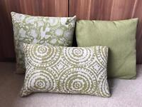 Green Cushions