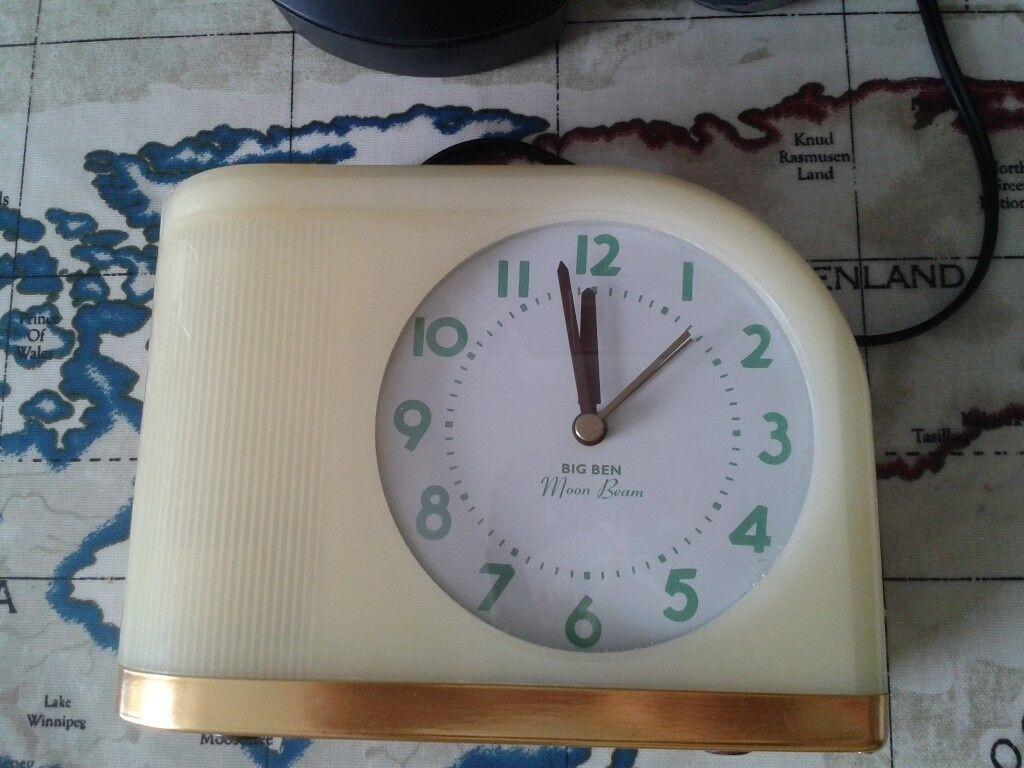 10 Westclox Big Ben Moon Beam Alarm Clock 43000x In Bournemouth