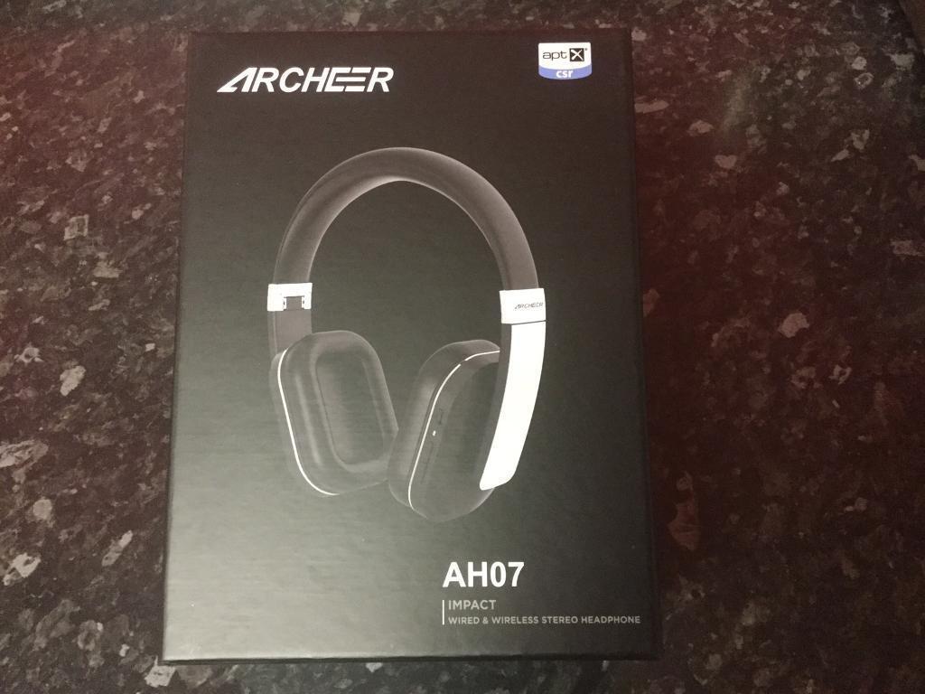 9f39f5d00dc Wireless bluetooth headphones archeer AH07 brand new | in Bulwell ...