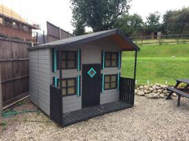 2 storey childrens playhouse-fantastic Christmas gift!